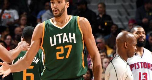 Basket - NBA - La nuit des Frenchies : Rudy Gobert régale le Utah Jazz
