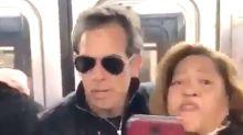 Una fan de Ben Stiller pierde los papeles al encontrarse a la estrella en el metro