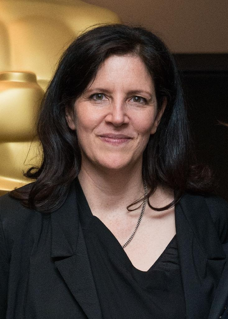 Laura Poitras, pictured on February 18, 2015, is suing the US government to find out why she was repeatedly detained at immigration checkpoints