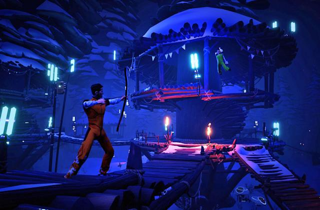 Survival arena brawler 'Darwin Project' launches March 9th