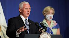 Pence says COVID-19 fatality rate remains 'low and steady'