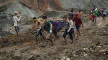 More than 160 dead in Myanmar jade mine landslide