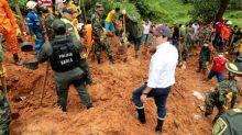 Un deslizamiento de tierra deja nueve muertos en una ciudad del centro de Colombia