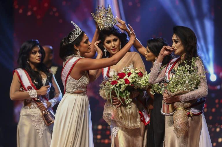 Sri Lanka's 'Mrs World' quits amid criminal charges