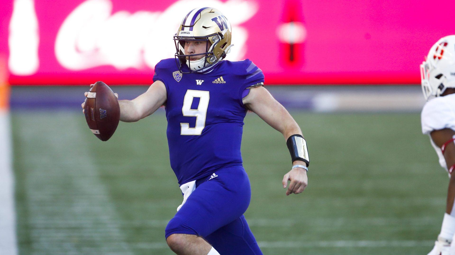 Washington QB competition open as spring practice nears end