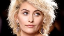 Paris Jackson Rocks a Designer Message T-Shirt