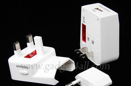 Universal Travel Adapter keeps jet-setters happy