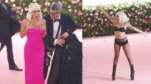 Vier Outfits: Lady Gagas verrückter Auftritt bei der Met Gala