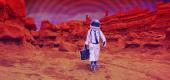 Should humans be next to explore Mars? (Photo illustration: Yahoo News; photos: Getty Images)