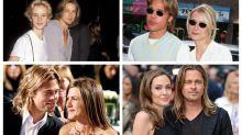 ¿Te habías dado cuenta de que Brad Pitt se parece a todas las novias que ha tenido?