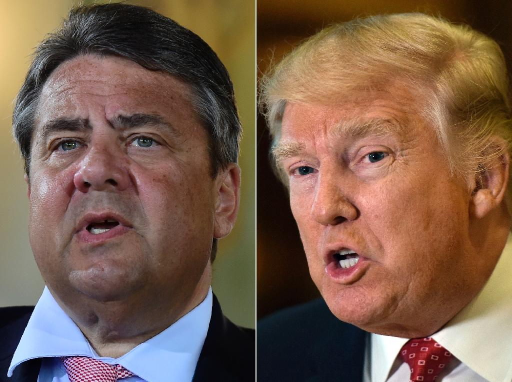 "German Foreign Minister Sigmar Gabriel warns that Trump's policies are putting ""peace in Europe at risk"""