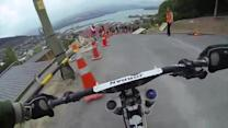 Intense Downhill Mountain Bike POV