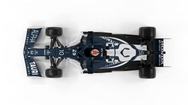 AlphaTauri車隊發表本季F1新車AT02