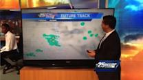 First Alert Forecast: Week begins with wet weather