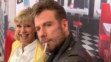 'Grease': John Travolta y Olivia Newton-John vuelven a ser Danny y Sandy 41 años después
