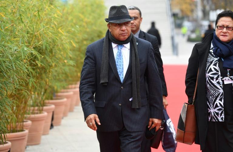 Fiji's PM to play down climate row on Australia trip