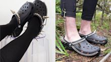 Goth Crocs have landed just in time for summer