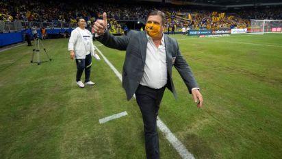 El paraguayo González anota en el primer triunfo del Tigres de Miguel Herrera