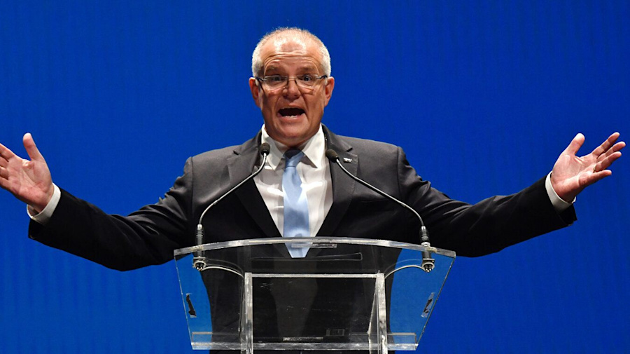 Scott Morrison set to lead majority government as Coalition nears key seat wins