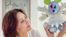 Carina Lau designs her own Snow Angel Mickey doll for charity