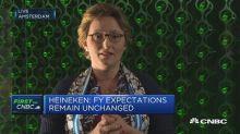 Heineken CFO: Current FX rates would reduce profit by 130...