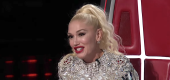 Yahoo Music - Gwen Stefani reacts to Aaron Scott's performance on 'The Voice.' (Photo: NBC)