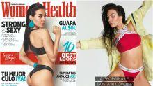 Georgina Rodríguez presume de cuerpazo en la portada de Women's Health