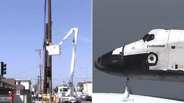 Power outages expected during shuttle Endeavour journey across LA