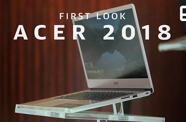 Hands on with Acer's premium Chromebooks and Helios 500
