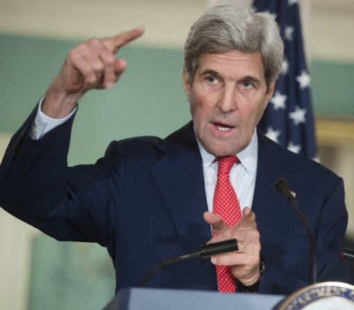 """Kerry calls on Russia, Assad to """"restrain"""" from offensive strikes"""