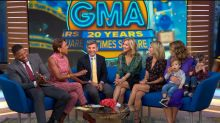 Celebrating 20 years of 'GMA' in Times Square
