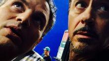 'Avengers: Infinity Wars': Social Snaps From the Set With Robert Downey Jr., Mark Ruffalo, Benedict Cumberbatch, and More