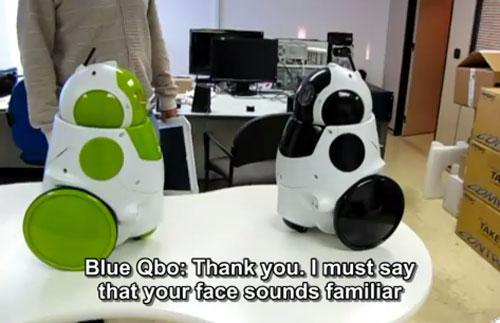 How I Met Your Robot Mother: a Qbo 'First' (video)