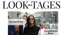 Look des Tages: Juliana Moreira in Ledershorts