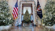 Melania Trump unveils Christmas at the White House