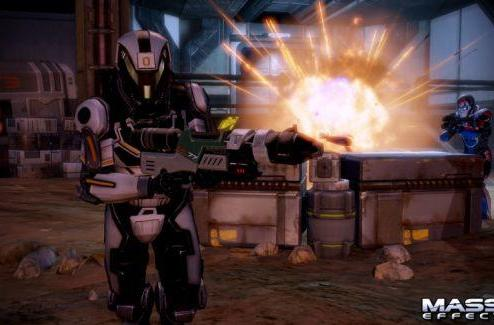 New Mass Effect 2 DLC armor, shotgun available tomorrow