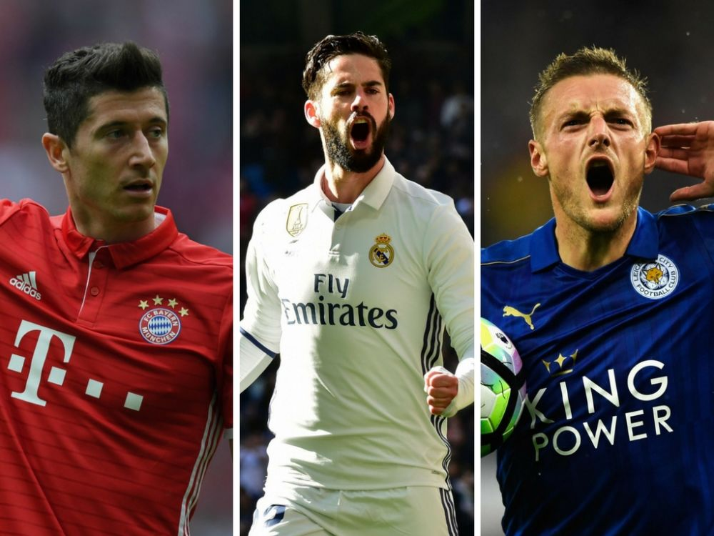 Will Robert Lewandowski, Isco and Jamie Vardy make your Daily Fantasy team for this week's Champions League matches?