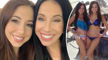 'Twins': Lookalike mum, 60, and daughter, 30, shock