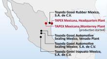 Toyoda Gosei Starts Operation of New Plant in Mexico