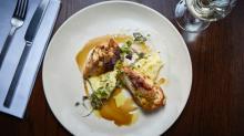 Maggie Beer and Luke Mangan's Mustard Pear Chicken Breast recipe