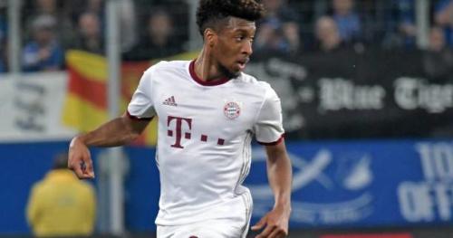 Foot - ALL - Bayern - Kingsley Coman titulaire avec le Bayern Munich à Wolfsburg