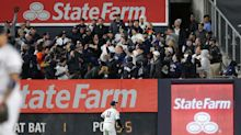 Yankees fans throw taunts, but not projectiles, in ALCS Game 5 win