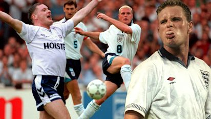 Gazza at 50: Free spirit with a self-destruct button