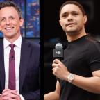 Late Night On Trump's Racist Tirade