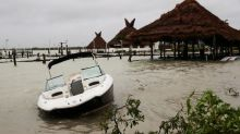 Huracán Delta: los destrozos e inundaciones de la tormenta en su paso por México