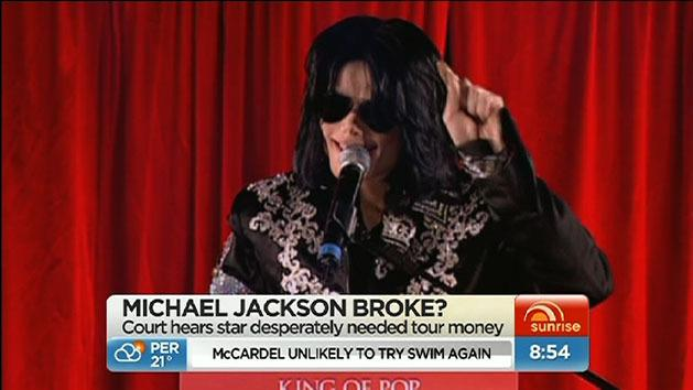 Was Michael Jackson broke?