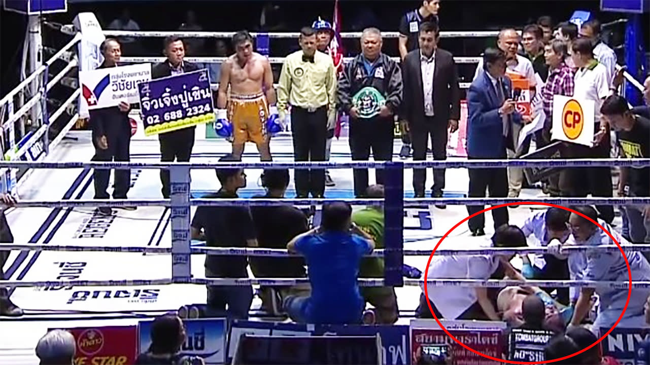 Officials under fire for 'disgraceful' treatment of dying boxer