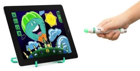 CES 2013: Crayola Light Marker for iPad