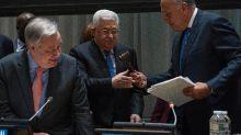 Palestinians launch bid for full UN membership