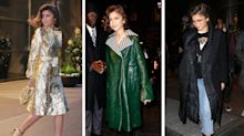 Zendaya, Gigi, and all the other celebs wearing chic coats that serve for both fashion and function